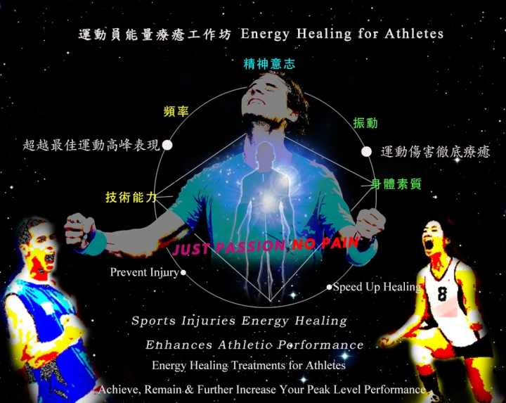 運動員的能量療癒 Energy Healing for Athletes