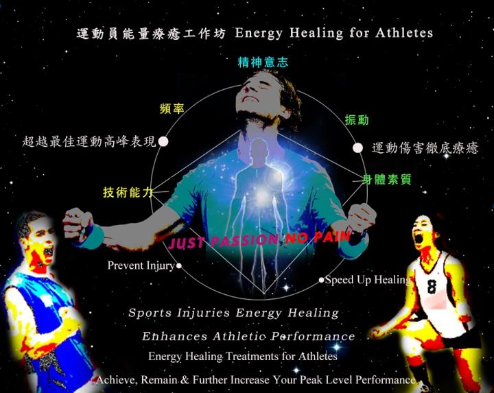 運動員的能量療癒 Energy Healing for Athletes