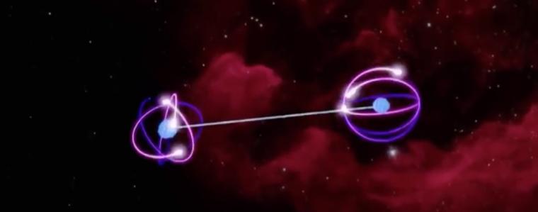 量子纏繞與遠距療癒