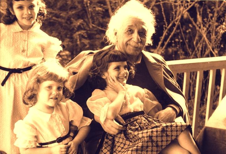 愛因斯坦家人